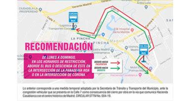 Alcaldía de Madrid toma  medidas para mejorar la movilidad