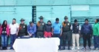 Aceptaron cargos integrantes de banda delictiva Los Sabaneros