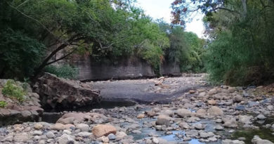 Déficit hídrico en varios municipios del Tequendama por temporada seca