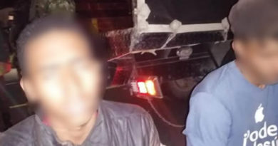 Capturados tres sujetos involucrados en la quema de un vehículo en Cundinamarca
