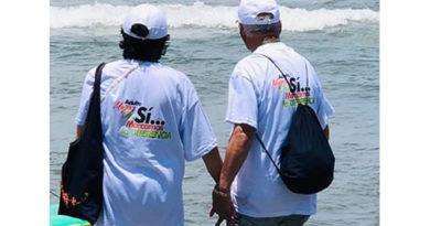 Con 'fiesta blanca' culminó salida de 'abuelitos' de Chía a Cartagena
