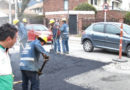 Alcalde de Chía verifica el avance de mejoramiento de vías