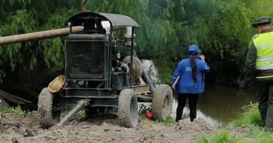 Particulares robaban agua del río Bogotá, para el riego de hortalizas