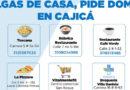 Alcaldía de Cajicá genera directorio para solicitar domicilios