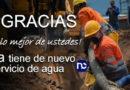 Así se restableció servicio de agua en Chía