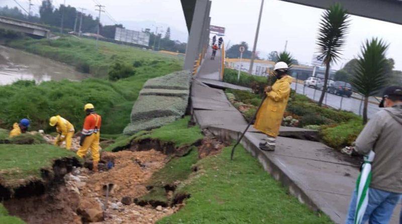 Daño en Chía por temblor