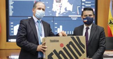Cundinamarca envía 1344 computadores para fortalecer puestos de vacunación