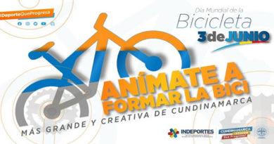 """Día Internacional de la Bicicleta, """"Rodando por Cundinamarca 2021"""""""