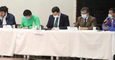 Gobierno departamental, Mininterior y organismos de control contra la delincuencia en Cundinamarca