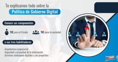 Política de Gobierno Digital, indispensable para el funcionamiento de las entidades